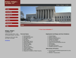 beliganlawfirm.com screenshot