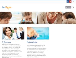 belingue.com.br screenshot