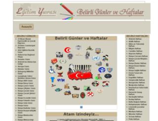 belirligunler.com screenshot