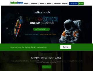 belizebank.com screenshot