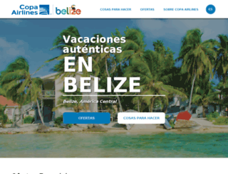 belizeesposible.com screenshot