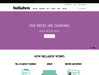 bellabox.com.au screenshot