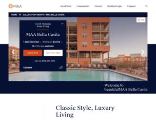 bellacasita-apartments.com screenshot