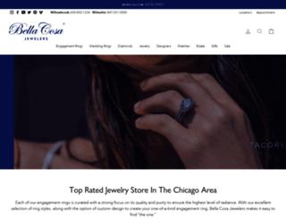 bellacosajewelers.com screenshot