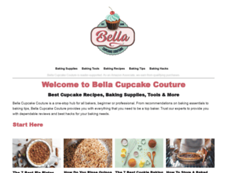 bellacupcakecouture.com screenshot