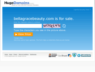 bellagracebeauty.com screenshot
