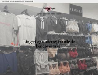 bellalingeri.dk screenshot