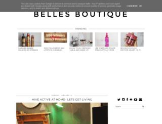 belles-boutique.blogspot.co.uk screenshot