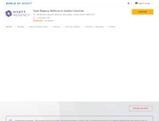 bellevue.hyatt.com screenshot