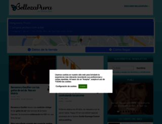 bellezapura.com screenshot