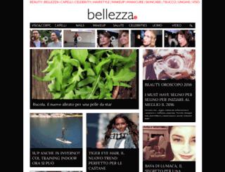 bellezza.it screenshot