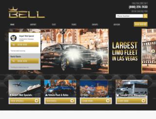 belllimousine.com screenshot