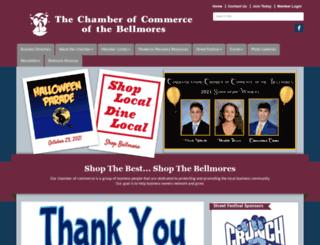bellmorechamber.com screenshot