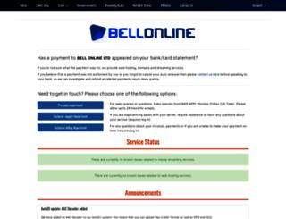 bellonline.co.uk screenshot