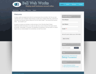 bellwebworks.com screenshot