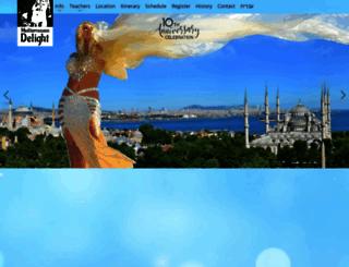 bellydancefestival.net screenshot