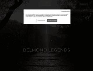 belmond.com screenshot