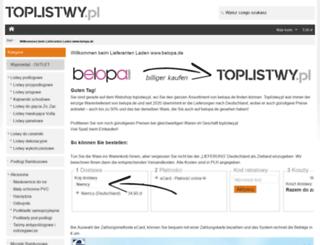 belopa.de screenshot
