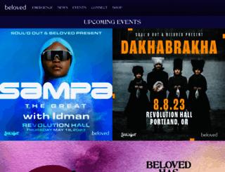 belovedfestival.com screenshot