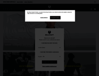 belstaff.co.uk screenshot