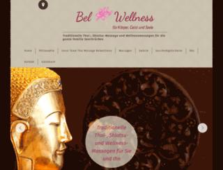 belwellness.de screenshot