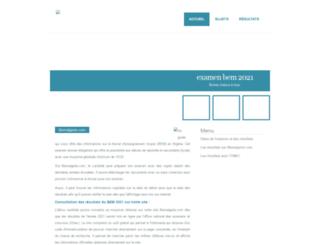 bemalgerie.com screenshot