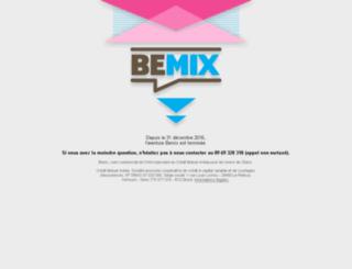 bemix.fr screenshot