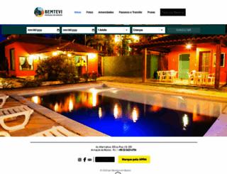 bemteviembuzios.com.br screenshot