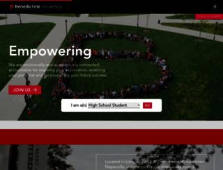 ben.edu screenshot