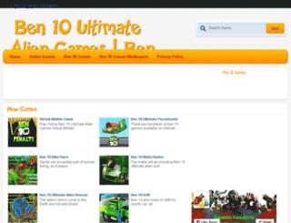 ben10ultimatealiengames.co.in screenshot