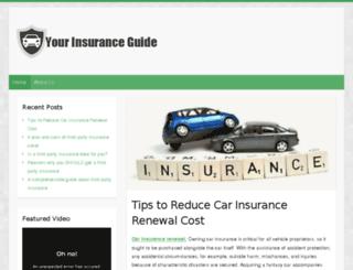 benaglioinsurance.com screenshot