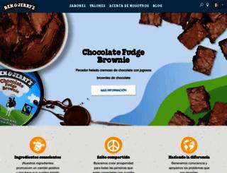 benandjerrys.com.mx screenshot