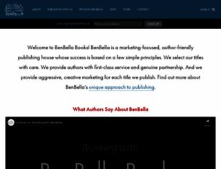 benbellabooks.com screenshot