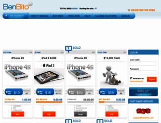 benbito.com screenshot