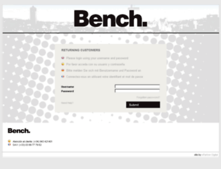 bench-b2b.com screenshot