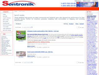 bench-scales.sentronik.com screenshot