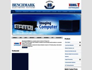 benchmark-electronics.com screenshot