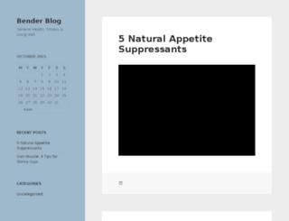 benderblog.com screenshot