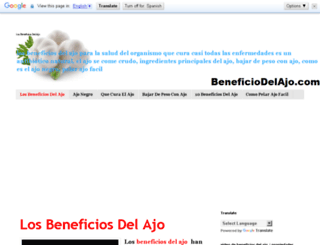 beneficiodelajo.com screenshot