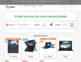benefit.lenovoonline.sk screenshot