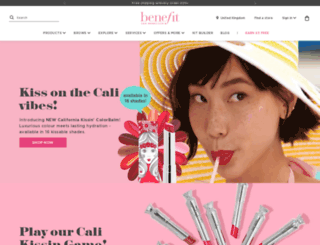 benefitcosmetics.co.uk screenshot