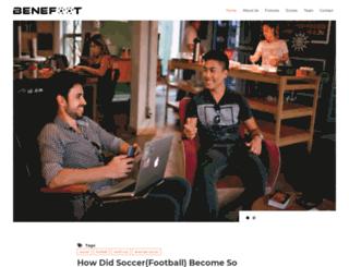 benefoot.net screenshot