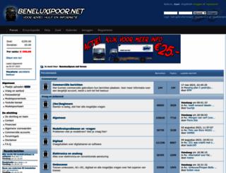 beneluxspoor.net screenshot