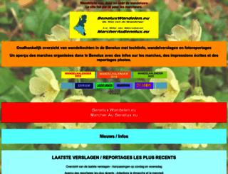 beneluxwandelen.eu screenshot