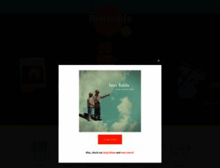 benfolds.com screenshot