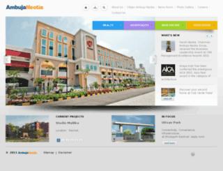 bengalambuja.com screenshot