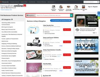 bengaluruonline.in screenshot
