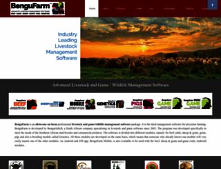 bengufarm.co.za screenshot
