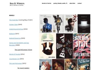 benhwinters.com screenshot