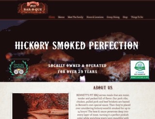 bennetts-bbq.com screenshot